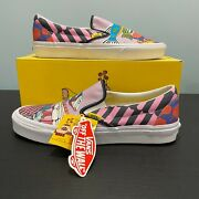 The Beatles Sea Of Monsters Yellow Submarine Classic Slip On Size 9us New