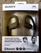 Sony Nw-ws623 4gb Bluetooth Waterproof Active Mp3 Player Headset - Black New