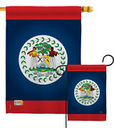 Belize Garden Flag Regional Nationality Small Decorative Gift Yard House Banner