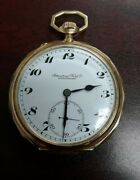 Schaffhausen 14k Gold Pocket Watch