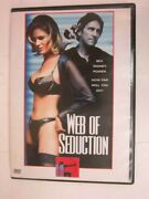 Web Of Seduction - Lauren Hays Tracy Smith Dvd 1997 Rare Oop Free Shipping