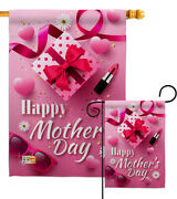 Beautiful Mother Day Mothers Gift Heart Love Pretty Garden House Yard Flag