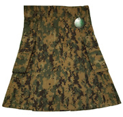 American Highlander Usmc Marpat Digital Woodland Camo Warrior Kilt