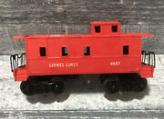 Lionel Lines Red 6057, Lehigh Valley 6476, And Flat Bed