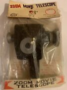 1960s Dime Store Toy Movie Telescope Unopened Sealed Plastic Nos Hong Kong