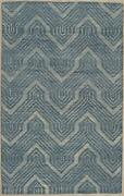 Eorc T181bl5x8 Area 5' X 8' Hand-tufted Wool Contemporary Rugstransitionalrug...