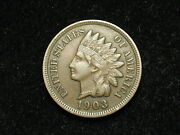 Spring Sale Xf 1903 Indian Head Cent Penny W/ Diamonds And Full Liberty 90j