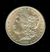 1888 S Morgan Silver Dollar Very Exceptionnal Appears A Nice Gem .rare This Nice