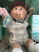 Rare Original1984 Cabbage Patch Kids Doll Nat Sanford In Box Great Condition Nib