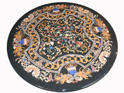 42 Marble Table Top Pietra Dura Handicraft Floral Art Work Inlay Home Furniture