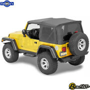 1997-2006 Jeep Wrangler 2dr Incl Tinted Windows Supertop Nx Soft Top - Spice