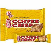 16 Coffee Crisp Chocolate Bars Full Size 50g Each From Canada -fresh And Delicious