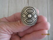 Calvin Martinez Ring Sterling Signed Size 11