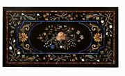 48 X 24 Marble Coffee Table Handmade Room Decor Stoneware For Gifts