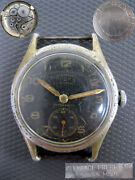 Military Watch Dogma Clemence Frere Wristwatch Wwii Swiss Made For German Army