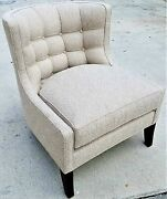 A Lovely Pearson Furniture Pat Chair 220 With Woven Chevron Pattern Fabric
