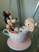 Precious Moments-disney Theme Park Exclusive-you Are My Cup Of Tea 790016