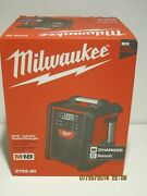 Milwaukee 2792-20 M18 Jobsite Radio/charger-free Shipping-new In Sealed Box