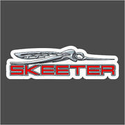 Skeeter Bug Red Carpet Graphic Decal Sticker For Fishing Bass Boats 700-102