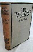 The Red Paste Murders By Arthur Gask - 1920s Edition