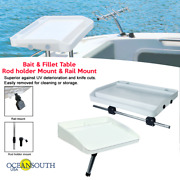 Oceansouth Bait And Fillet Tables - Rod Holder / Rail Mount
