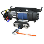 New Oem Polaris Ranger Pro Hd 6,000 Lb Winch With Rapid Rope Recovery - 2882710