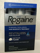 Rogaine Menand039s Hair Regrowth Treatment Foam 2.11 Oz 4 Month Supply Exp 03/21 Four