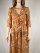 Womenand039s Nwt Love Fire Floral Printed Bed Duster Size S