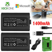 For Official Microsoft Xbox One Controller Play And Charge Kit 1400mah