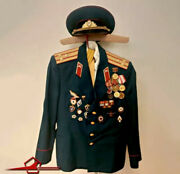 Urss Cccp Russe Soviet Military Uniform Red Army Colonel полковник Officer