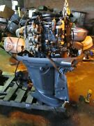 """Yamaha F225txrd 225hp Four Stroke Outboard Motor 22hp 25"""" Shaft For Part/repair"""