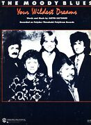 The Moody Blues Your Wildest Dreams Sheet Music Piano/vocal/guitar 1986 Rare New