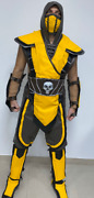 Mortal Kombat Costume With Mask And Armor
