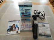 Playstation 3 Move Bundle Controller Camera Sports Champions Sony Ps3, 2010