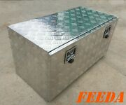 Aluminum Tool Box Truck Storage Trailer Tractor Towing Bed Boat Rv Atv Under 38
