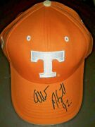 Albert Haynesworth 92 Dt Tennessee Vols Signed Autograph Official Ncaa Hat Rare