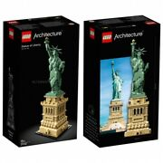 Lego Architecture Statue Of Liberty Sealed Brand New 21042 New