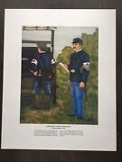 The Nco Images Of An Army In Action Print Ambulance Corps 1895