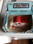 1987 Ertl True Value Hardware 1905 Ford Delivery Car Bank 1/25 Scale
