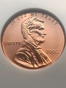 2006 P Ngc Ms -68rd Red Sms Lincoln Cent