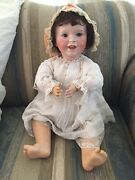 Antique Laughing Jumeau 236 S. F. B. J. 27andrdquo Toddler Baby Doll Made In Paris