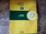 John Deere Nylon Line Gas Electric Trimmers And Edgers Parts Catalog Manual Pc1565