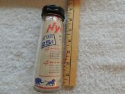 Vintage Hygeia Baby Glass Bottle New In Package Never Used 599-8 A1 Usa