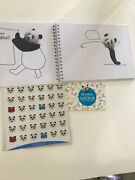 Creative Sketch Book All About Panda Bears For Kids And Adults. Art Activity Book
