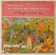 Muhammad Ali Signed Autograph Fights Mr Tooth Decayalbum Record Lp Beckett Aut