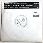 Tears For Fears - Shout Change Mad World 2004 Remixes Rare Double 12 Record