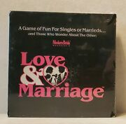 Vintage 1991 Modern Bride Magazine Love And And Marriage Game 711 Htf Rare Find
