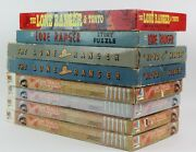 1930s-80s The Lone Ranger Games And Puzzle By Milton Bradley And More...