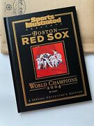 Sports Illustrated Boston Red Sox 2004 World Series Hardcover Special Edition