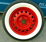 13 Inch Rims 2.5'' Wide Whitewall Topper Tire Trim Insert Style Set Of 4 Pcs